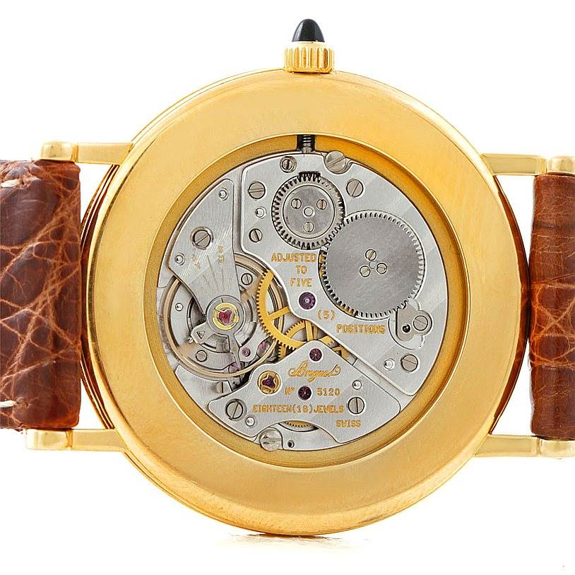Breguet Classique 18K Yellow Gold Mens Watch 3200 SwissWatchExpo