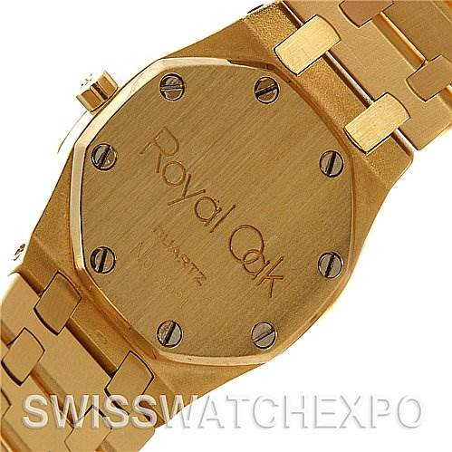 Audemars Piguet Royal Oak 18k Gold Ladies Watch SwissWatchExpo