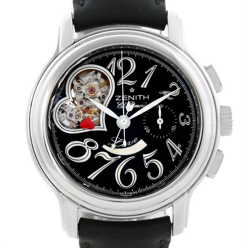 Zenith Star El Primero Open Chronograph Watch 03.1230.4021/21.c545