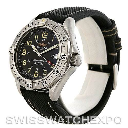 Breitling Superocean Automatic Steel Watch A17040/1121 SwissWatchExpo
