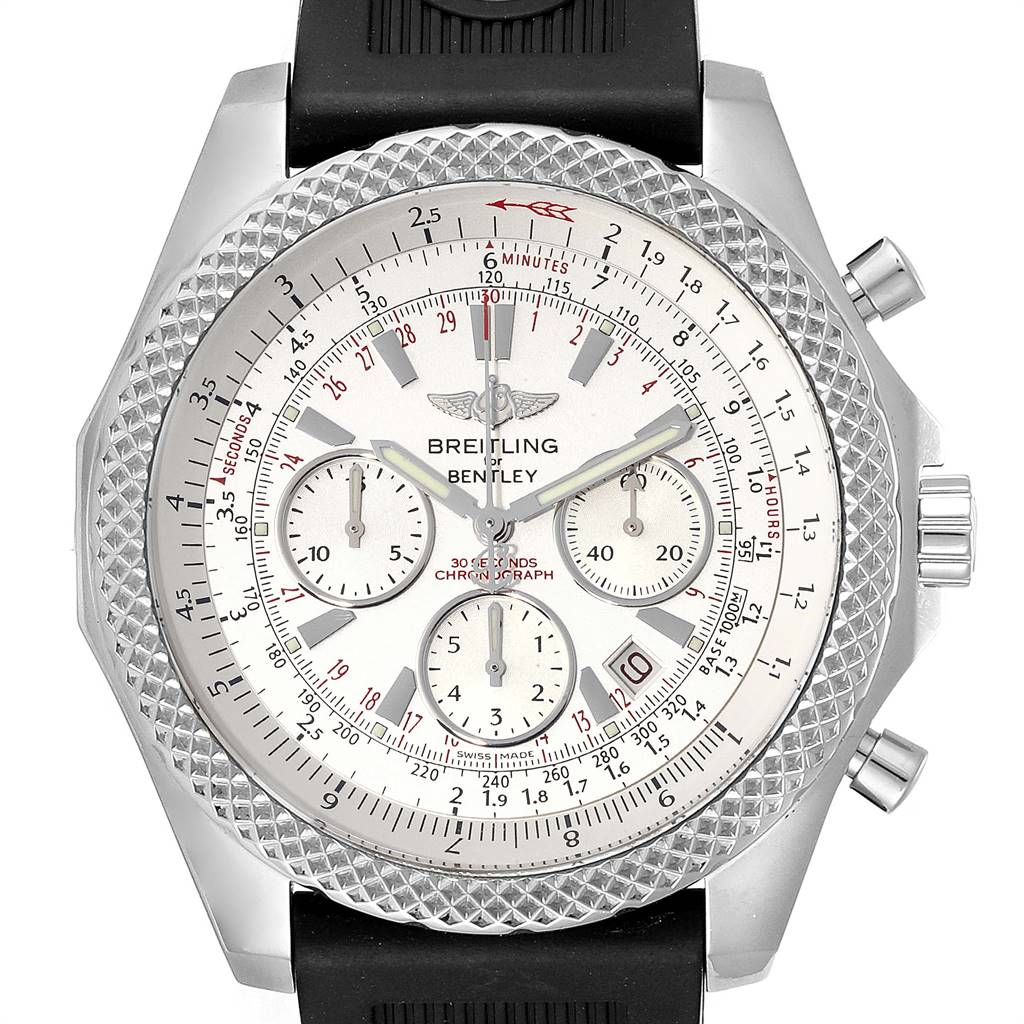 Breitling Bentley Motors Special Edition Mens Watch A25364 Box Paper SwissWatchExpo